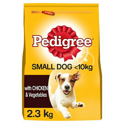 £26.99 • Buy Pedigree Dry Food For Adult Small Dog With Chicken & Vegetable 3 Bags (3x2.3kg)