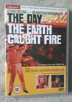 £3.99 • Buy THE DAY THE EARTH CAUGHT FIRE (1961) Edward Judd Sci Fi Film UK R2 DVD EXCEL CON