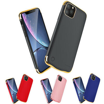£18.49 • Buy IPhone Ultra Thin Battery Power Case Backup Charging Cover For 6 6S 7 8 XR 11 12