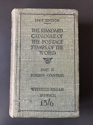 £9 • Buy STANDARD CATALOGUE OF THE POSTAGE STAMPS OF THE WORLD 1949 Ed Part II FOREIGN