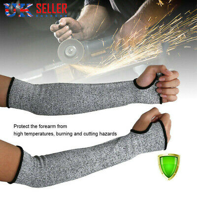 £6.59 • Buy 1 Pair Arm Sleeve Gloves Guard Cut Proof Anti Cut-Resistant Safety Protective UK