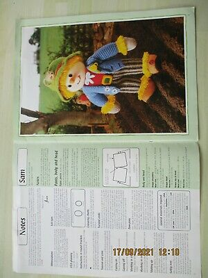 £4 • Buy Jean Greenhowe's Scarecrow Family   Knitting Patterns.  Preowned
