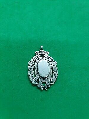 £22 • Buy Antique Solid Silver Fob For Albert Chain