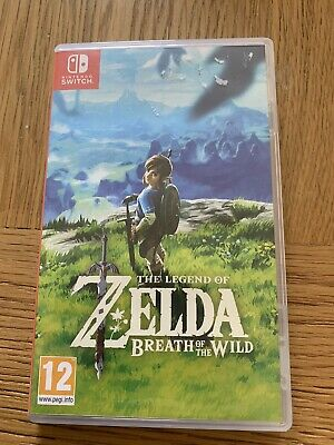 AU30.09 • Buy The Legend Of Zelda Breath Of The Wild - Excellent Condition - Nintendo Switch