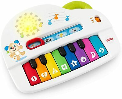 £15.24 • Buy Fisher-Price Laugh And Learn Silly Sounds Light-Up Piano, Infant Toy