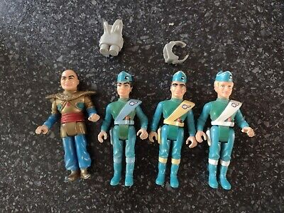£7.50 • Buy Matchbox Thunderbirds Figures 1992 Bundle With Accessories