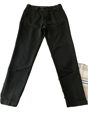 £4 • Buy Zara Black Cropped Trousers Small