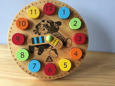 £1.10 • Buy Early Learning Centre Teaching Clock, Educational, Learn Time Age 3-8 Years