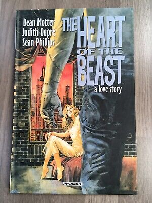 £10 • Buy Heart Of The Beast - HC Graphic Novel - Dynamite - Sean Phillips SIGNED