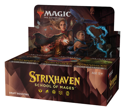 £64.99 • Buy ⭐ Magic The Gathering MTG Cards Strixhaven School Of Mages Draft Booster Box  ⭐