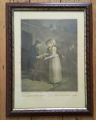 £5 • Buy Cries Of London  Collectable Framed Print Knives To Grind 14'' X 18''