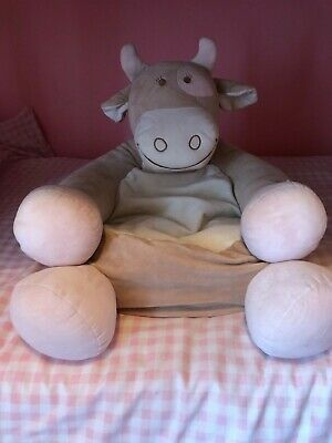 £30 • Buy Noukie's Cow - Baby/toddler Plush Soft Chair/seat Lovely Condition