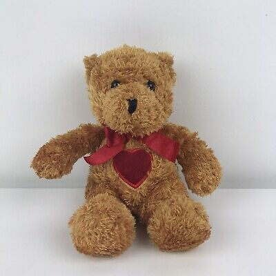 £1.99 • Buy Keel Toys Simply Soft Collection Brown Bear With Red Love Heart Plush Soft Toy