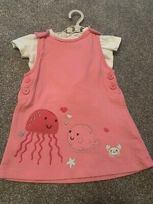 £2.80 • Buy Blue Zoo Baby Girls Summer Jelly Fish Crab Dress Outfit 3-6 Months