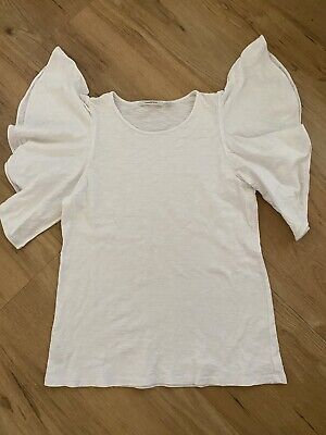 AU4 • Buy Country Road Womens White T-Shirt/ Top. Sz S