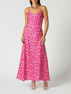 AU289.99 • Buy Scanlan Theodore Size 8 (may Also Fit 10) Linen Palm Print Slip