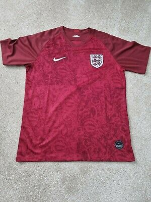 £5 • Buy England Nike Football Men's Special Edition Lionesses Rose Shirt Large
