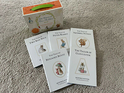 £7.99 • Buy The World Of Peter Rabbit Beatrix Potter Story Collection 5 Classics In Case