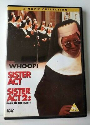 £3.50 • Buy Sister Act 1 & 2 Back In The Habit 2 Movie Collection Region 2 Dvd