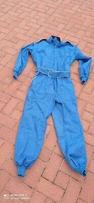 £19.95 • Buy Adult Karting Go Kart Race Rally Suit Poly Cotton One Piece Overall  - New