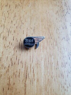 £2 • Buy Bsa Motorcycles Badge And Propelling Pencil