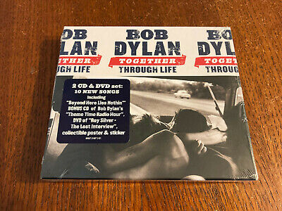 £8.58 • Buy Bob Dylan 'Together Through Life' 2009 US 2 CD & DVD W/Poster And Sticker  EX/EX