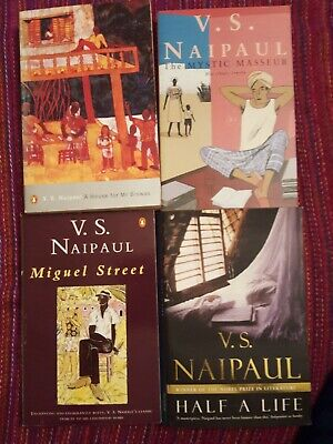 £9.99 • Buy FOUR V S Naipaul Books Mr Biswas Half A Life Miguel Street Mystic Masseur