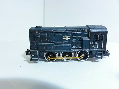 £40 • Buy Graham Farish Catalogue Number 1007 Class 08 0-4-0ds Diesel Shunter 08493 Boxed
