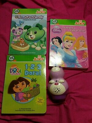£9.95 • Buy Leapfrog Tag Junior Scout Book Pal Reader + 3 Books Pre Loaded English/ Spanish