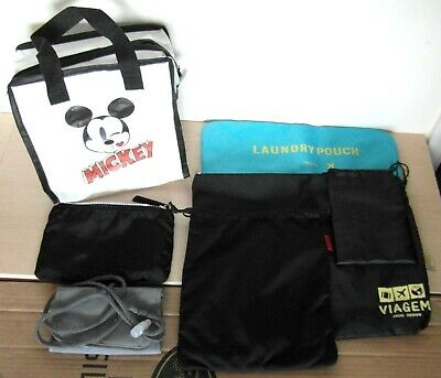 £5 • Buy Job Lot 7x Assorted Bags Mickey Mouse, Viagem, Sony, A-TO-B, Boya. All Excellent