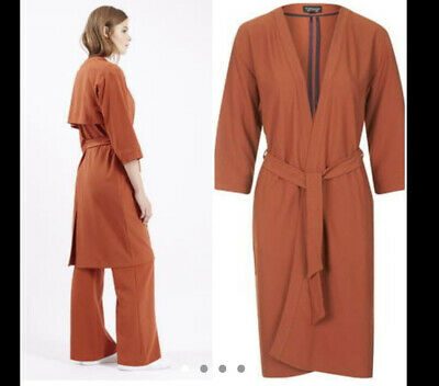 £4.10 • Buy Topshop Rust/orange Kimono Jacket And Trousers Co-ord Two Piece Size 10