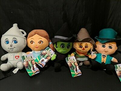 """£29.09 • Buy Wizard Of OZ Plush Big Head 7"""" Toy Factory Lot Of 5"""
