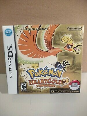 $899.99 • Buy Pokemon Heartgold Authentic Complete Sealed (Nintendo DS, 2010) With PokeWalker