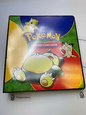 $178.50 • Buy Huge Lot Of Binder Vintage Pokemon Card Collection Wotc Base Neo Gym Hero Fossil