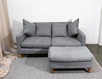 £285 • Buy John Lewis Bailey Upholstered Sofa And Footstool: RRP £1048