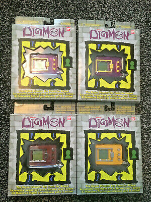 £75 • Buy 4 X Digimon Digivice Anniversary Version 2-PURPLE 1-YELLOW 1-RED 3-SEALED 1-OPEN