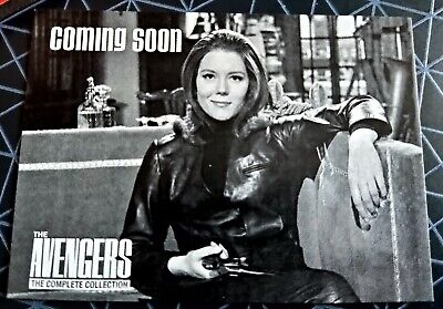 £24.99 • Buy The Avengers Complete Collection PROOF Promo Card PR1 - Diana Rigg / Emma Peel