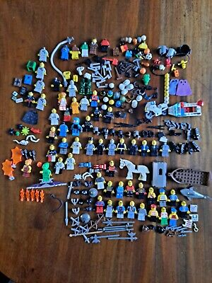 £5 • Buy Assorted LEGO Figures And Accessories Spiderman Harry Potter Knights