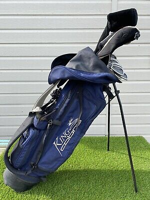 AU517.24 • Buy Mens Full Set Of Left Handed Golf Clubs - Ping / Taylormade / King Cobra -