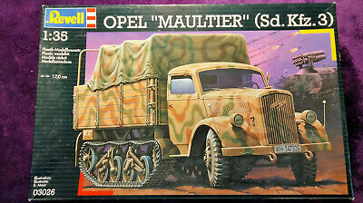 AU65.85 • Buy Revell 1:35 Opel MAULTIER Sd.Kfz.3 Half-Track Tractor Model Kit 03026 SEALED BAG