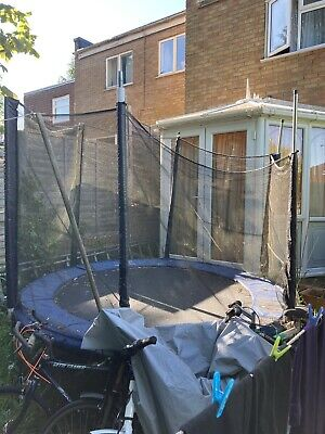 £30 • Buy Trampoline 8ft Used With Safety Net And Poles Very Good Condition