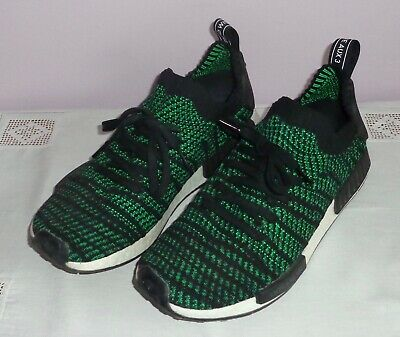AU65 • Buy Mens Adidas Athletic Shoes Nmd Boost Primeknit Green/black Size Us 11.5