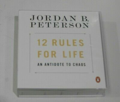 AU29.99 • Buy 12 Rules For Life: An Antidote To Chaos By Jordan B. Peterson (Audio CD)