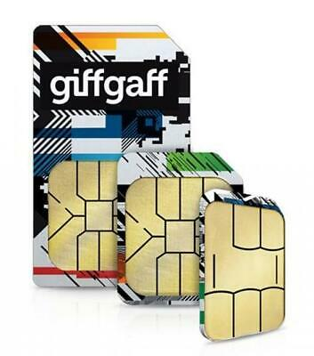 £0.01 • Buy Giffgaff Mobile Phone Pay As You Go Sim Card Top Up Samsung IPhone UK Number 3