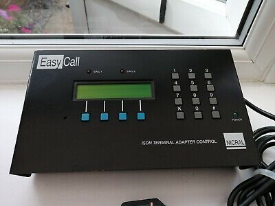 £5 • Buy Nicral Isdn Terminal Adapter Control