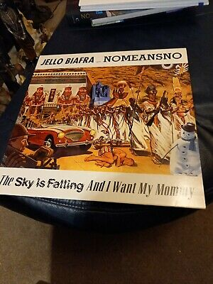 £19.99 • Buy Jello Biafra With Nomeansno The Sky Is Falling And I Want My Mummy Vinyl