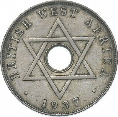 £1.32 • Buy Better - 1937 British West Africa 1 Penny - TC *176
