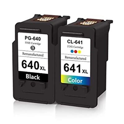 AU17.50 • Buy Non-OEM PG-640XL CL-641XL Ink For Canon PIXMA MG3660 MG4160 MG4260 MX456 MX526