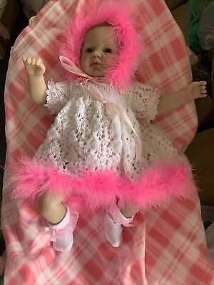 £90 • Buy Reborn Baby With Painted Hair X