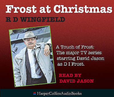 £9.99 • Buy Frost At Christmas By R. D. Wingfield (Audio Book) 3CD (Harper Collins) (2005)